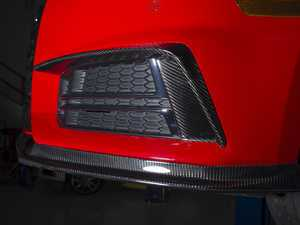 ES#3195023 - 019511ecs01KT - Carbon Fiber Grille Accent Set - Hand-laid carbon fiber to upgrade your exterior styling - ECS - Audi