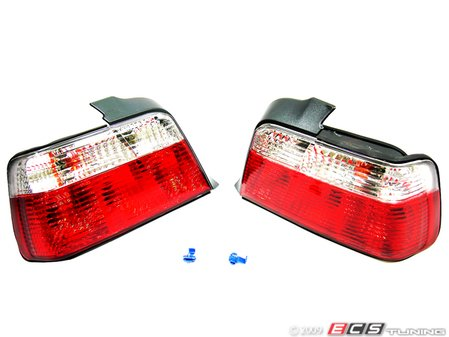 ES#10705 - FKRL60 - Tail Light Set - Crystal Red/White - Dress to impress with new tail lights! - FK -