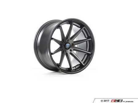 "ES#3241155 - rc102095112mgKT1 - 20"" RC10 Wheels - Set Of Four - 20""x9"", ET35, CB66.6, 5x112 - Matte Graphite / Gloss Black Lip - Rohana Wheels - Audi"