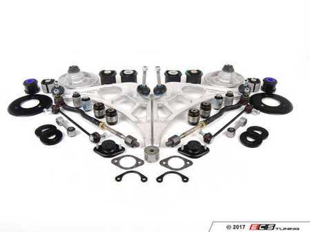 ES#2649824 - 33172282484KT9 - Front And Rear Suspension Refresh Kit - All the necessary high quality aftermarket parts to completely rebuild your front and rear suspension in one comprehensive package - Assembled By ECS - BMW