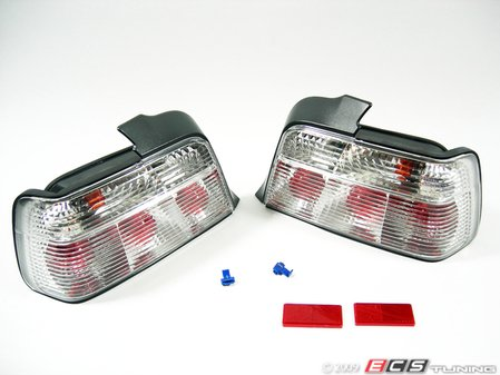 ES#10706 - FKRL68 - Tail Light Set - Crystal White - Crystal white tail lights are excellent for light colored cars - FK -