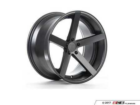 "ES#3241269 - rc2219855112mKT1 - 19"" RC22 Wheels - Set Of Four - 19""x8.5"", ET40, CB66.6, 5x112 - Matte Graphite - Rohana Wheels - Audi"