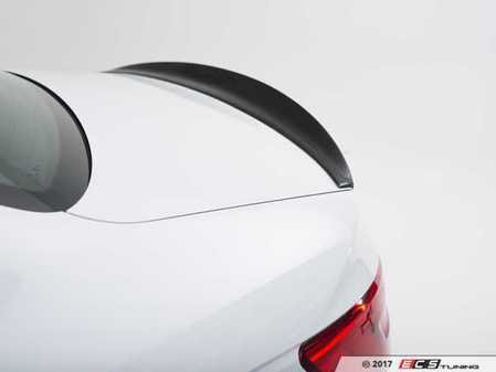 ES#3141741 - 019220ECS01A - Carbon Fiber Trunk Spoiler - Add a touch of style and real carbon fiber to your Audi - ECS - Audi