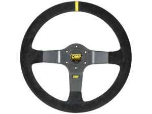 ES#3192167 - OD/2028 - 350 Carbon RAcing Steering Wheel - Black suede - Universal sport steering wheel with a 350mm diameter. - OMP - BMW