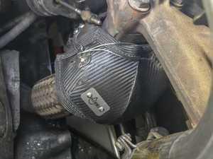 """ES#3191385 - 020299ECS01A -  ECS Tuning """"HeatShield"""" Turbo Blanket  - Keep your underhood temps low and your turbo speeds high! - ECS - Volkswagen"""