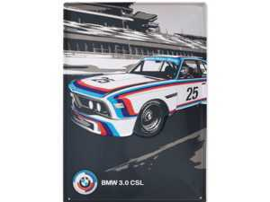 ES#3178853 - 80232445949 - BMW Motorsport 3.0 CSL Metal Sign - Add some classic BMW style to your home, office, or garage - Genuine BMW - BMW