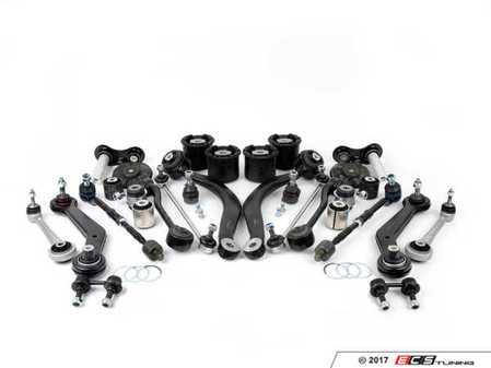 ES#2827134 - E5305212KT - Front And Rear Suspension Refresh Kit - All the necessary high quality aftermarket parts to completely rebuild your front and rear suspension in one comprehensive package - Assembled By ECS - BMW