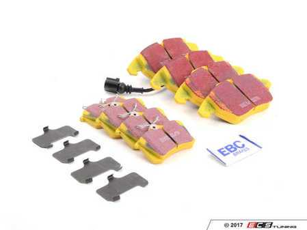 ES#2877017 - DP41517R1KT - Brake Pad Kit - Front & Rear - Complete set of Yellowstuff brake pads to service your vehicle - EBC - Volkswagen