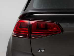 ES#3173630 - 020999ECS01A-02 - Rear Mid-Wing Hatch Spoiler - Gloss Black Fiberglass - Add unique and aggressive styling to your hot ride! - ECS - Volkswagen
