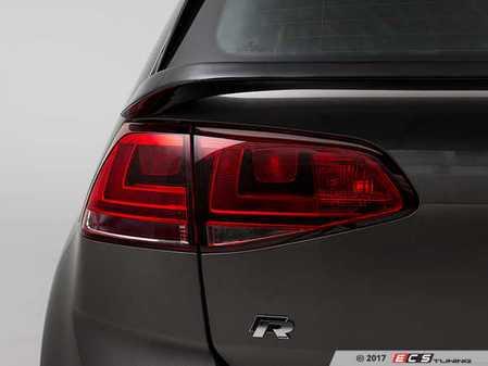 ES#3173630 - 020999ECS01A-02 - Rear Mid-Wing Hatch Spoiler - Gloss Black Fiberglass - Add unique and aggressive styling to your hot ride! - ECS - Volkswagen