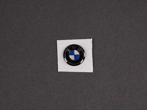ES#1876203 - 66122155753 - Replacement Key Fob Roundel Emblem - 11mm - Finally, a replacement for discolored or missing roundels! - Genuine BMW - BMW
