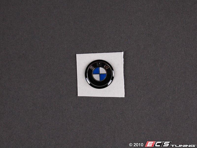 Genuine BMW  66122155753  Replacement Key Fob Roundel Emblem  11mm