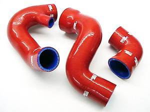 ES#1491 - B6A4BHK-RED - Boost Hose Kit - Red - Designed for heavy boost applications. - Samco - Audi