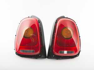 ES#3162648 - 63217297433KT - Tail Light Euro - Set - Upgrade to amber center turnsignal tailights for your MINI - Genuine European Mini - MINI