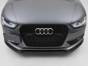ES#3191381 - 022651ECS01A -  Carbon Fiber Front Lip Spoiler  - Hand-laid carbon fiber to upgrade your exterior styling - ECS - Audi