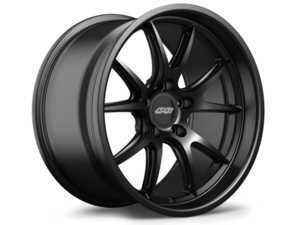 """ES#3618146 - fl51810et25KT3 - 18"""" APEX FL-5 Staggered Wheel Set - Satin Black  - APEX Wheels - BMW"""