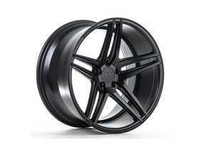 """ES#3245984 - rc82095112mbKT1 - 20"""" RC8 Wheels - Set Of Four - 20""""x9"""", ET35, CB66.6, 5x112 - Matte Black - Rohana Wheels - Audi"""