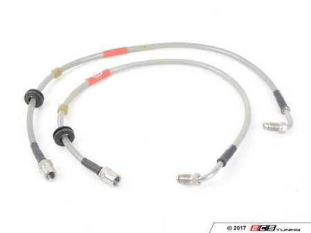 ES#3209670 - BL11 - Front Porsche Conversion Braided Brake Lines - Be sure to have high quality brake lines for your Porsche caliper upgrade! - Creations Motorsport - BMW