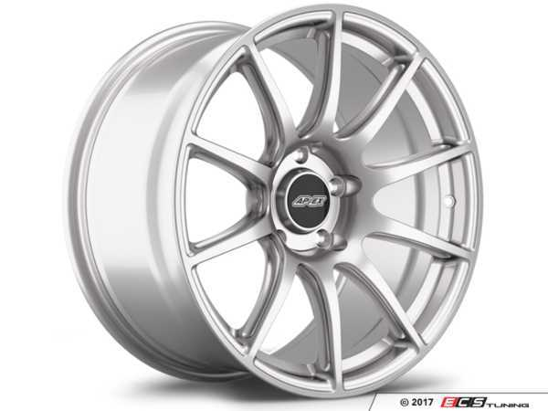"ES#3245973 - sm10189et30KT - 18"" APEX SM-10 Staggered Wheel Set - Race Silver - Shed weight and add style with APEX wheels! 18x9"" ET30/18x10"" ET25. - APEX Wheels - BMW"