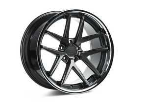 "ES#3246040 - rc920105112ggKT1 - 20"" RC9 Wheels - Set Of Four - 20""x10"", ET47, CB66.6, 5x112 - Gloss Graphite / Stainless Lip - Rohana Wheels - Audi"