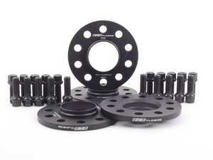 "ES#3240970 - 023881ecs01KT - 19"" Wheel Spacer Flush Fit Kit - Black Bolts - Includes spacers & Black bolts to obtain a flush look on your OE 19"" wheels - ECS - Audi"