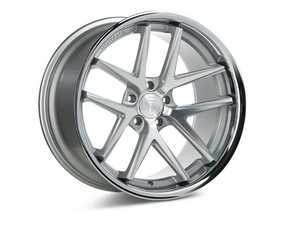 "ES#3246024 - rc919855112msKT - 19"" RC9 Wheels - Set Of Four - 19""x8.5"", ET25, CB66.6, 5x112 - Machine Silver / Stainless Lip - Rohana Wheels - Audi"