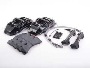 ES#3142632 - 99.10.45B -  6-Piston Big Brake Kit - Black - A caliper swap kit that utilizes factory rotors! - Neuspeed - Audi Volkswagen