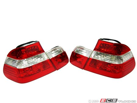ES#10718 - FKRL1221 - Tail Lights - Crystal Red/White/Red - Upgrade your stock tails to this OEM + look tail light set  - FK - BMW