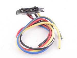 ES#3189496 - 645-707 - Blower Motor Resistor Harness - Repair your melted blower connector - Dorman - Volkswagen