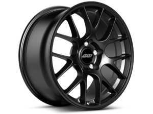 """ES#3138907 - EC71985H95LSB - 19"""" APEX EC-7 Staggered Wheel Set - Satin Black - Shed weight and add style with APEX wheels! 19x8.5"""" ET35/19x9.5"""" ET22. - APEX Wheels - BMW"""
