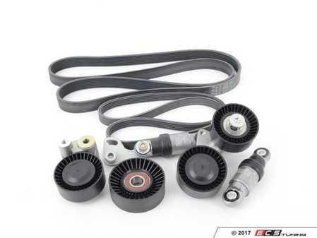 ES#2681025 - 11287515865KT - Accessory Belt Kit - Utilizes high quality aftermarket components - Assembled By ECS - BMW