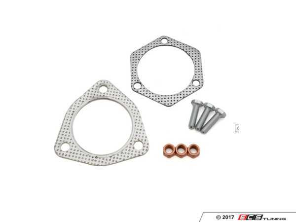 ES#3247770 - 034-105-A005 - Gasket & Hardware Kit - K03/K04 Longitudinal Applications  - Perfect for use with 034 high flow cat or test cat options. - 034Motorsport -