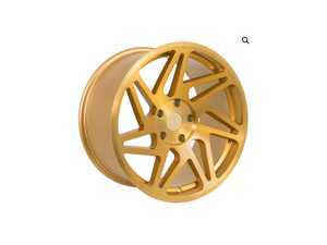 "ES#3247839 - r3118855112gdKT1 - 18"" R31 Wheels - Set Of Four - 18""x8.5"", ET40, 5x112 - Brushed Gold - Regen5 - Audi Volkswagen"