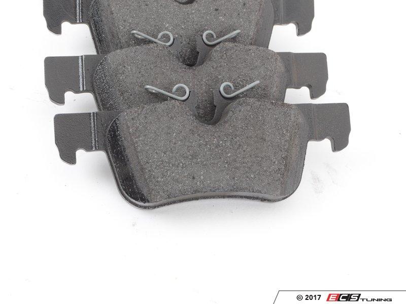genuine bmw  rear brake pad set