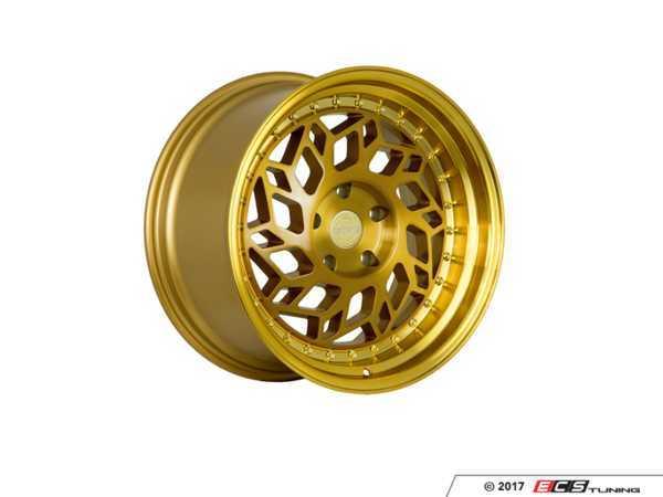 """ES#3521561 - r3218855120bgKT - 18"""" R32 Wheels - Square Set Of Four - 18""""x8.5"""" ET36 5x120 - Brushed Gold - Regen5 - BMW MINI"""