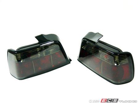 ES#10707 - FKRL67 - Tail Light Set - Crystal Black - Crystal black tail lights are excellent for dark colored BMWs - FK -