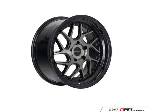 "ES#3521566 - r3318855120scKT - 18"" R33 Wheels - Square Set Of Four - 18""x8.5"" ET35 5x120 - Smoked Carbon with Black Lip - Regen5 - BMW MINI"