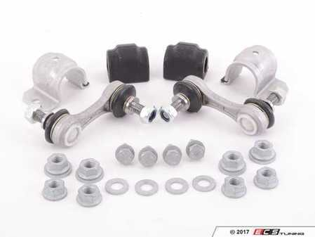 ES#2695592 - 33552283159KT4 - Rear Sway Bar Installation Kit - 16.5MM - Everything you need to install a new OE rear sway bar, includes end links - Assembled By ECS - BMW