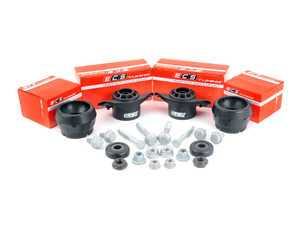 ES#3247758 - 016554ECS0102KT - ECS Heavy Duty Cup Kit/Coilover Installation Kit - Includes all the necessary suspension parts that should be replaced while installing new shocks/struts, cupkit or coilovers - ECS - Audi Volkswagen