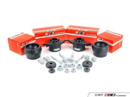 ES#3247758 - 016554ECS0102KT - ECS Heavy Duty Cup Kit/Coilover Installation Kit - Stage 1 - Includes all the necessary suspension parts that should be replaced while installing new shocks/struts, cupkit or coilovers - ECS - Audi Volkswagen