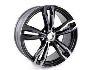 "ES#3109949 - 36107849120 - 19"" M Double Spoke style 572M Wheel - priced each - 19x8 ET47 5x120 72.6CB - Genuine BMW - BMW"