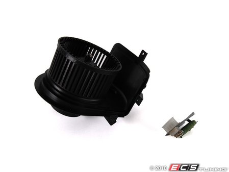 ES#252975 - 1h1820000 - Blower Motor - With Resistor - Complete kit including the resistor that blows when the blower motor goes out - Assembled By ECS - Volkswagen