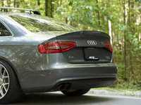 ES#3173709 - 021615ECS01A -  Carbon Fiber Trunk Spoiler - Add a touch of style and real carbon fiber to your Audi - ECS - Audi