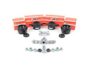 ES#3247760 - 016554ECS0105KT - ECS Heavy Duty Cup Kit/Coilover Installation Kit - Includes all the necessary suspension parts that should be replaced while installing new shocks/struts, cupkit or coilovers - with specialty tools - ECS - Audi Volkswagen
