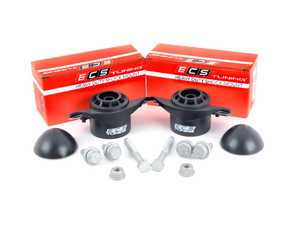ES#3247762 - 016554ecs0101KT -  ECS Heavy Duty Rubber Rear Shock Mount Kit - Upgrade to a more durable rear shock mount without sacrificing comfort! Improve longevity and ride control all at once. - ECS - Audi Volkswagen