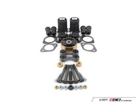 ES#2771414 - 33329061945KT8 - Rear Suspension refresh Kit - level 2 - Completely rebuild your rear suspension! Includes level one plus subframe mounts and differential bushings. - Assembled By ECS - BMW
