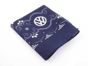 ES#3233059 - DRG009250 - Bandana - Blue with VW logo - Genuine Volkswagen Audi - Volkswagen