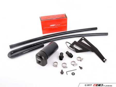 ES#3183754 - 015515ecs01-01KT - ECS S54 Baffled Oil Catch Can System - Keep your intake tract clean and oil free, with our ECS Baffled Oil Catch Can System - ECS - BMW