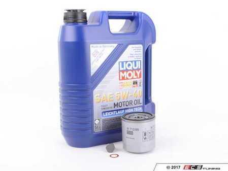 ES#3005998 - 04E115561HKT7 - Oil Service Kit - Includes Liqui Moly Oil, Hengst Filter, And Drain Plug - Assembled By ECS - Volkswagen