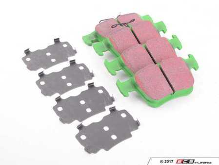 ES#3063620 - DP22153 - Rear GreenStuff Performance Brake Pad Set  - Mildly upgraded composite pad. - EBC - Audi Volkswagen
